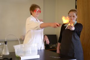 science experiment at st. paul lutheran school