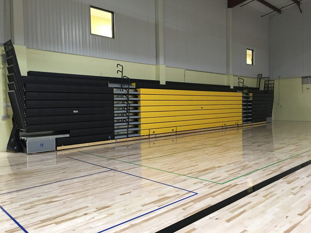 Our Newly Completed Bleachers