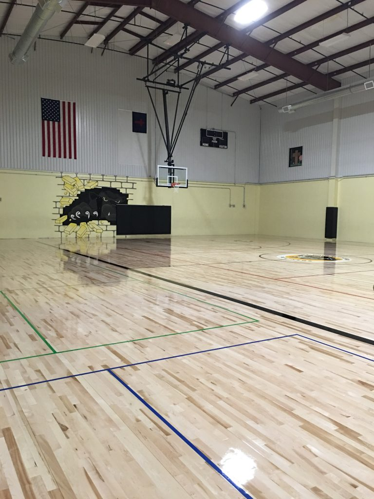 Newly Completed Gymnasium