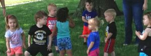picture of children at St. Paul Lutheran Childcare center